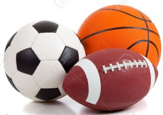 Sports football basketball soccer ball pic